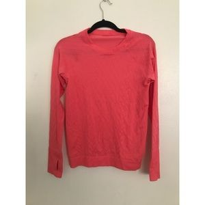 Lululemon pink Long Sleeve